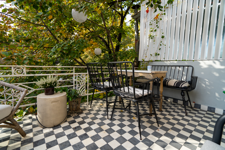 mobilă vintage terasă
