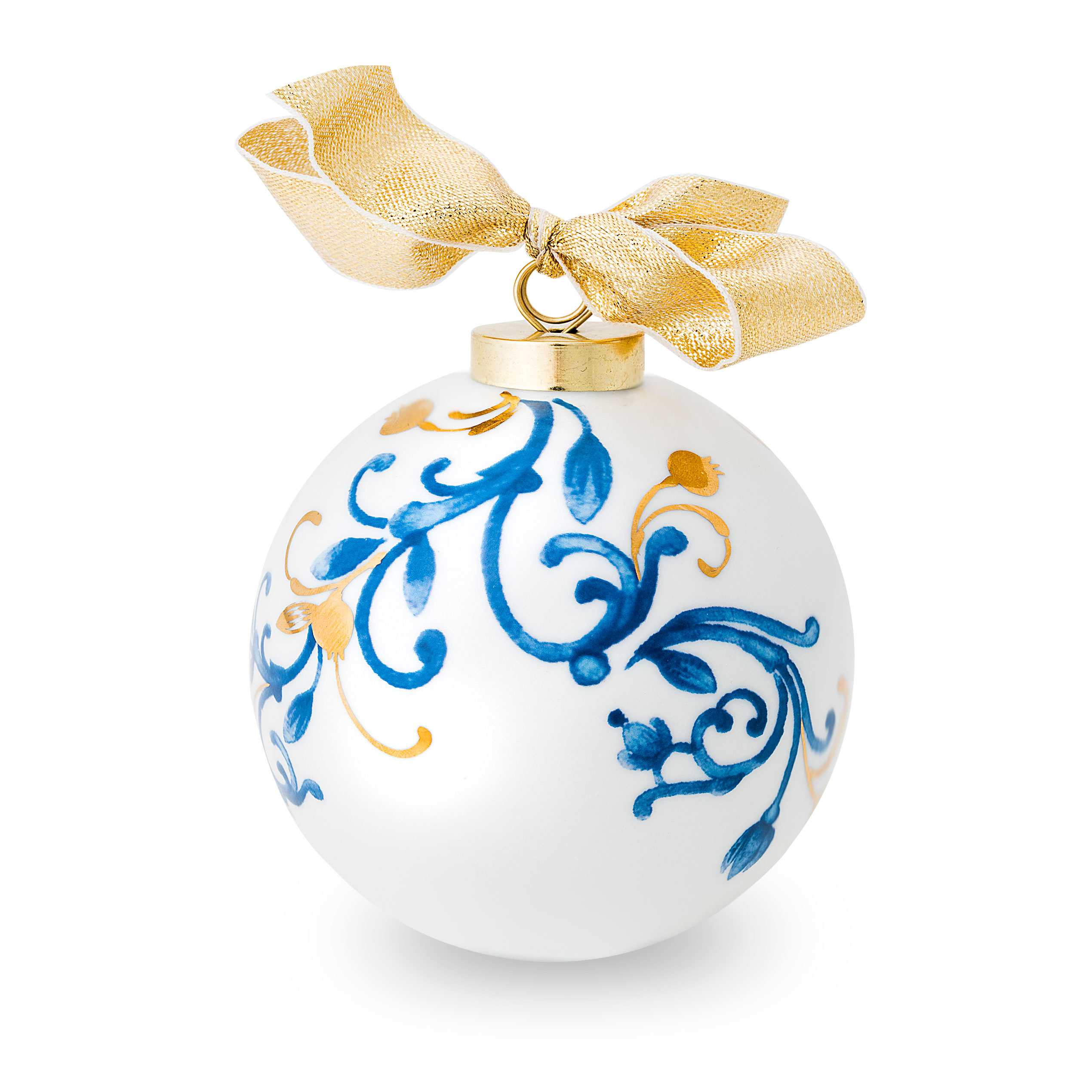 globuri de Crăciun deosebite alb cu albastru