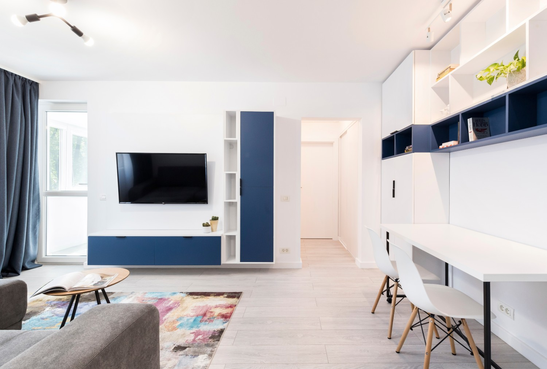 amenajare apartament mic de bloc