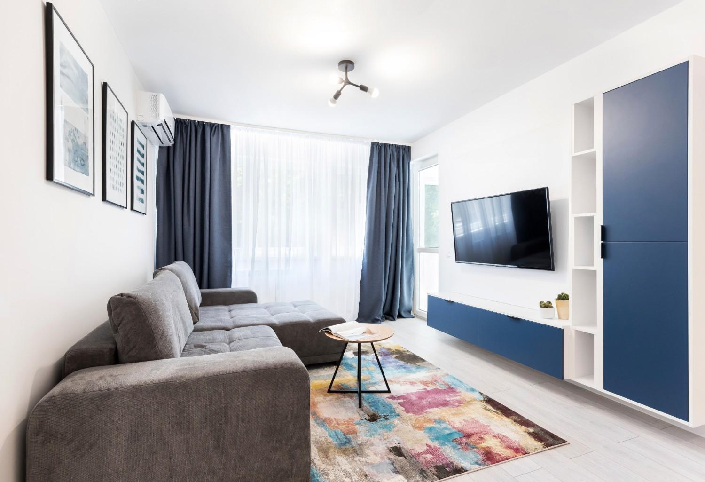 amenajare living apartament mic