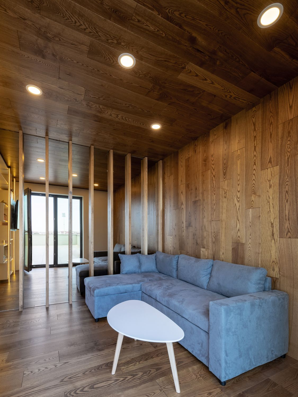 amenajare cu lemn living