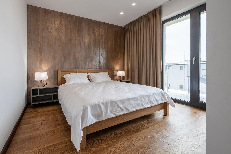 amenajare cu lemn dormitor