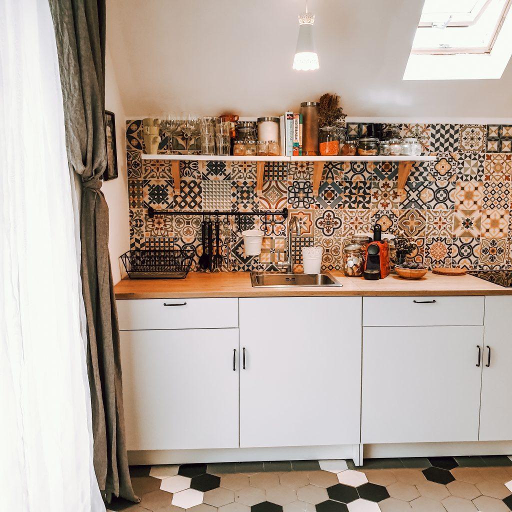 mica bucătărie din tiny home