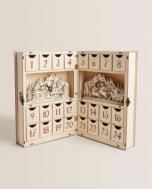 calendar de advent zara home ornamente craciun