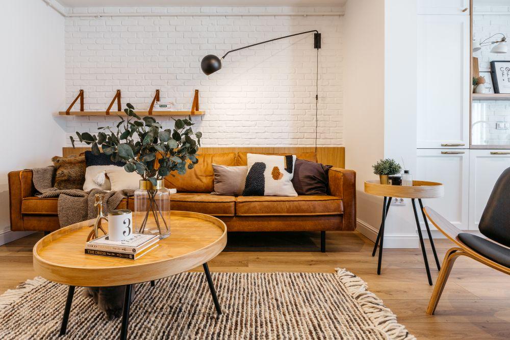 idei amenajare living apartament mic