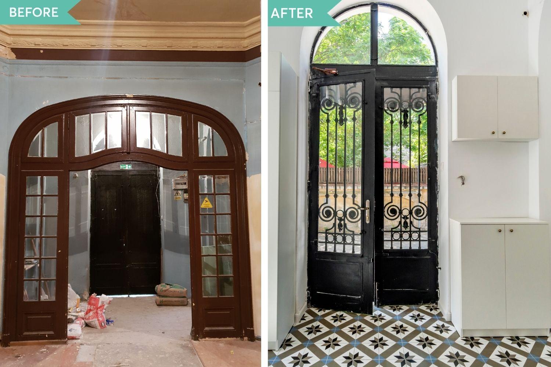 consolidare casa veche hol