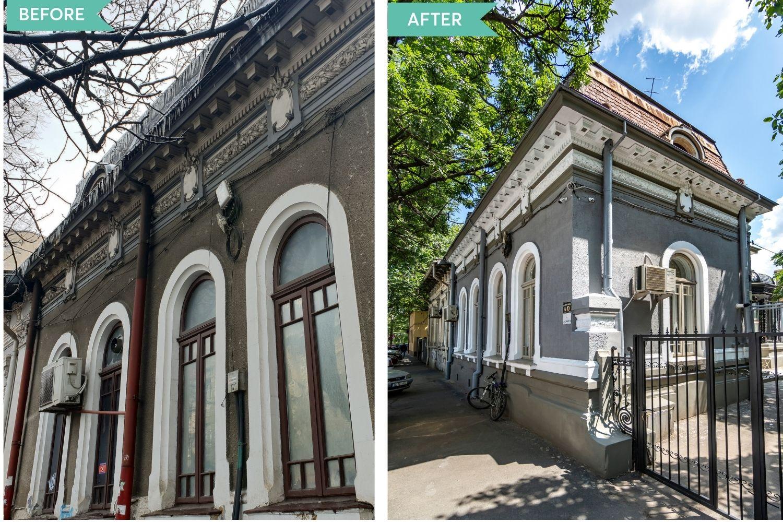 Dan și Diana au renovat complet o casă veche de 101 ani