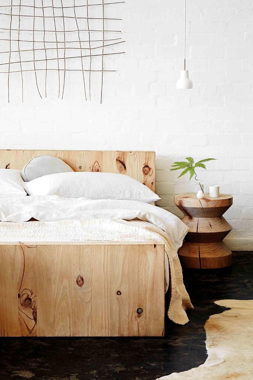tăblia de pat - lemn 1