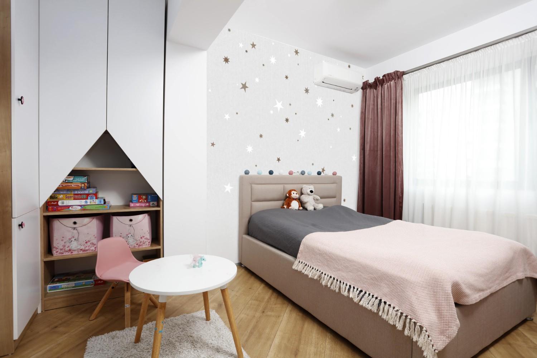 Amenajare dormitor fetita designer Cristian Patrascu (2)