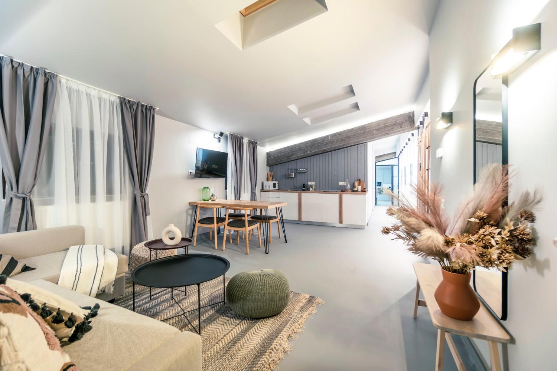 Apartament de inchiriat AirBnb Bucuresti stil boho chic - arh. Andra Bica Kanso Design (10)