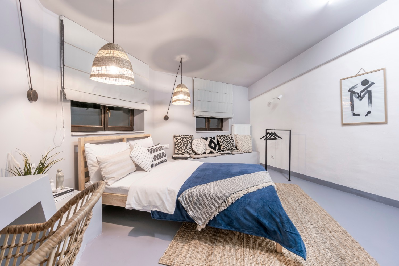 Apartament de inchiriat AirBnb Bucuresti stil boho chic - arh. Andra Bica Kanso Design (17)