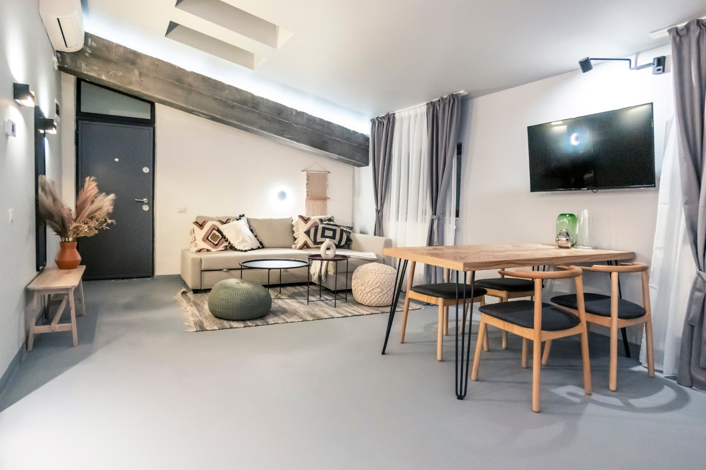 Apartament de inchiriat AirBnb Bucuresti stil boho chic - arh. Andra Bica Kanso Design (25)