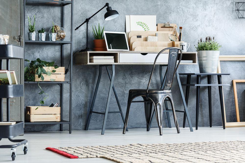 trenduri de design interior metal