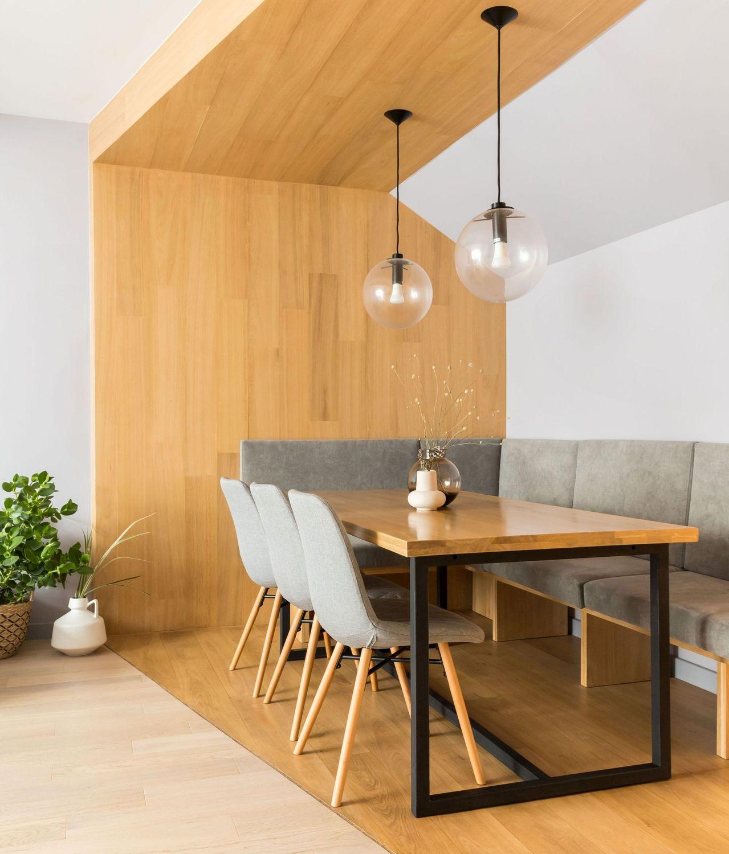 amenajare cu lemn dining