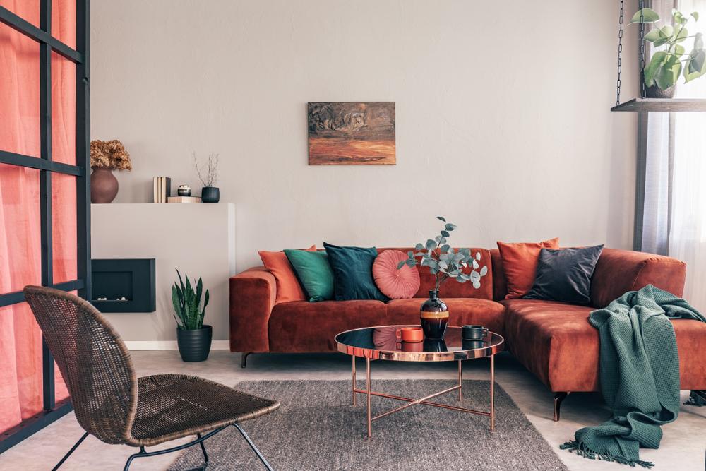 canapea cu şezlong