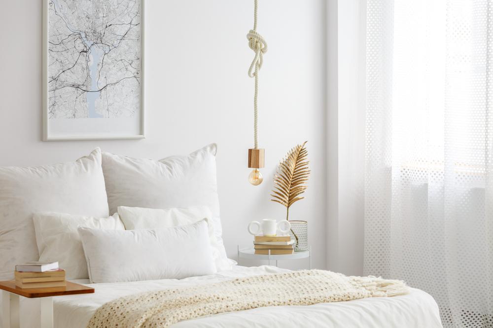 dormitor alb