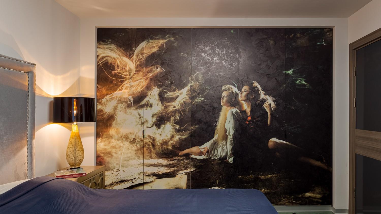 Dormitor matrimonial - renovare apartament Bucuresti - arhitect Alexandru Bucur Interiology (1)