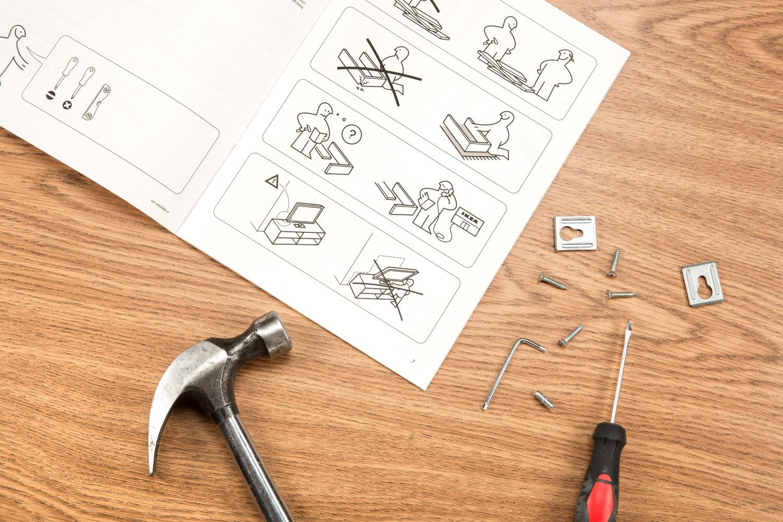 Explicațiile oferite de Ikea despre cum să asamblezi un produs nu-s chiar cele mai ușor de înțeles