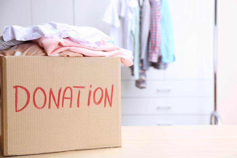 proiecte de organizare cutie donație haine