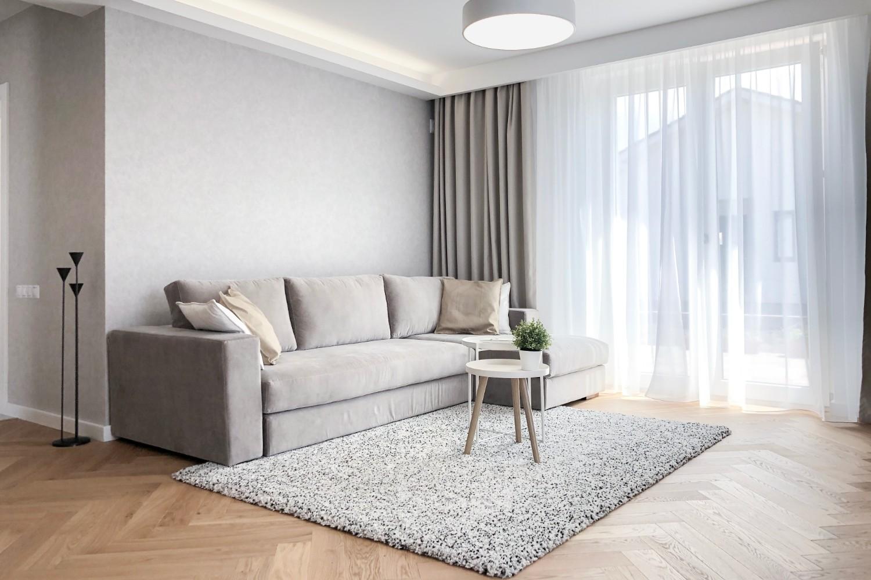 amenajare modernă - canapea living
