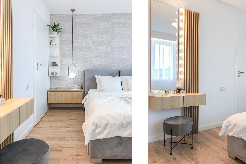 amenajare modernă - dormitor