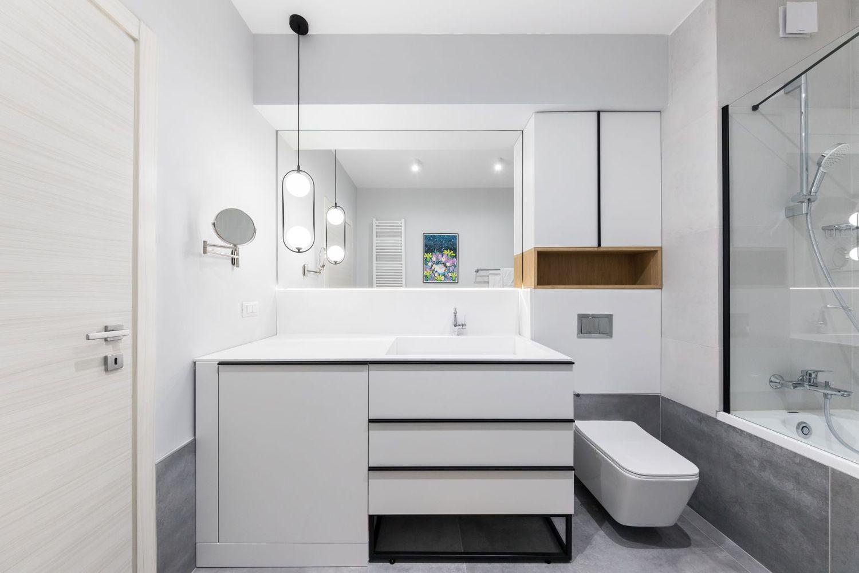 amenajare moderna baie