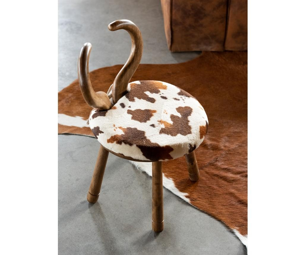scaun piele vaca