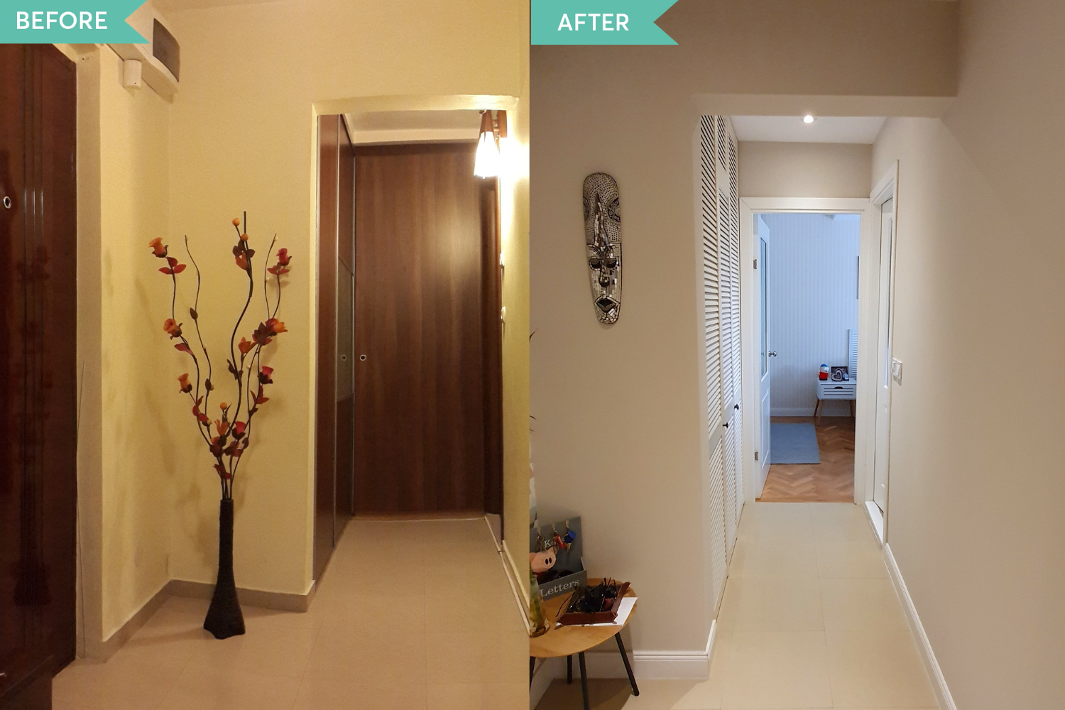 Before and after renovare Tineretului (4)