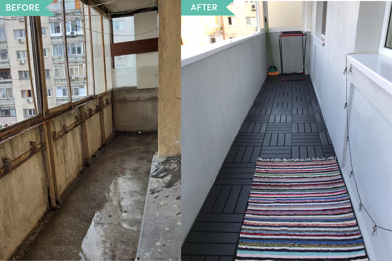 Before - renovare bucatarie Bucuresti