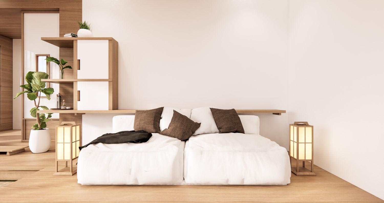 O canapea confortabilă se potrivește perfect stilului minimalist