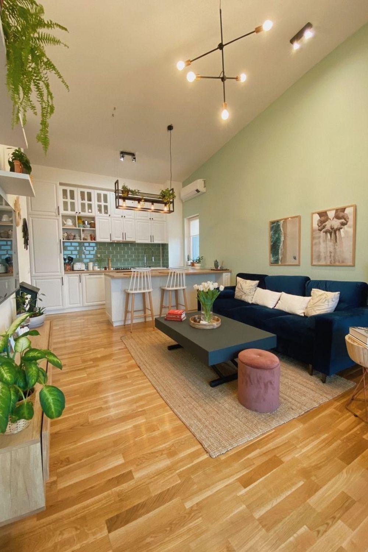 apartament la mansarda living