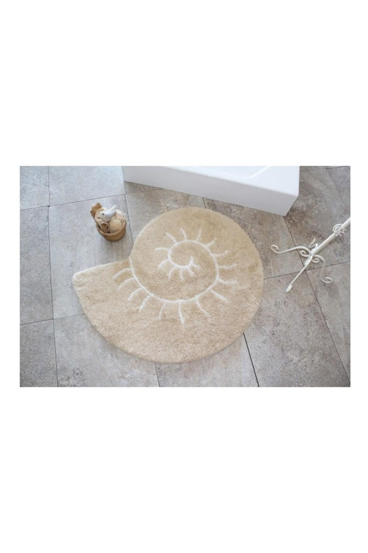 covor decoratiuni baie in forma de scoica