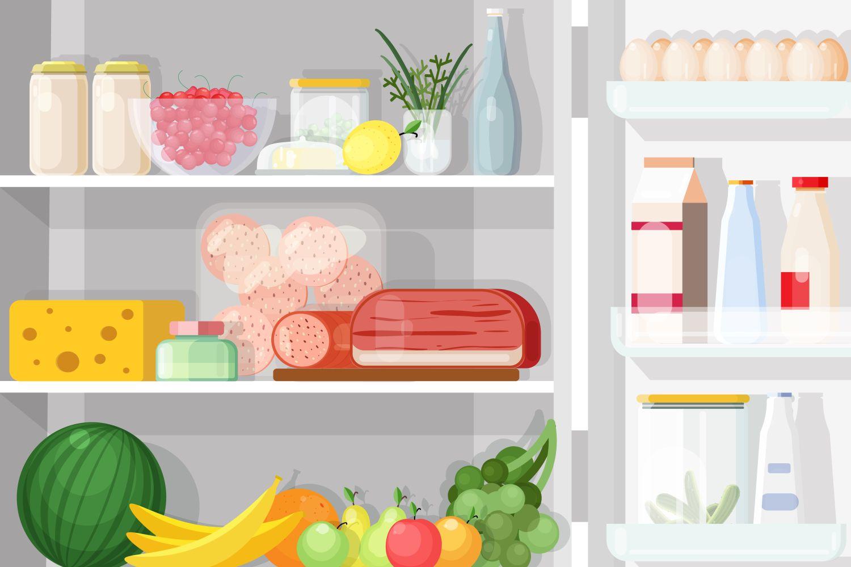 mirosuri frigider