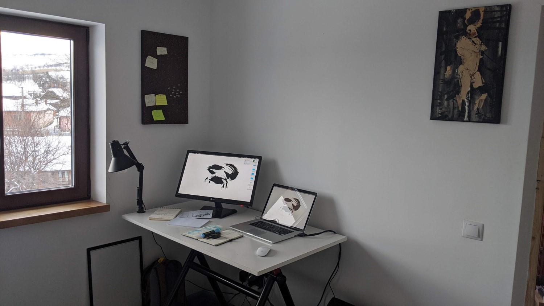 Camera lui Paul aka studioul de animație