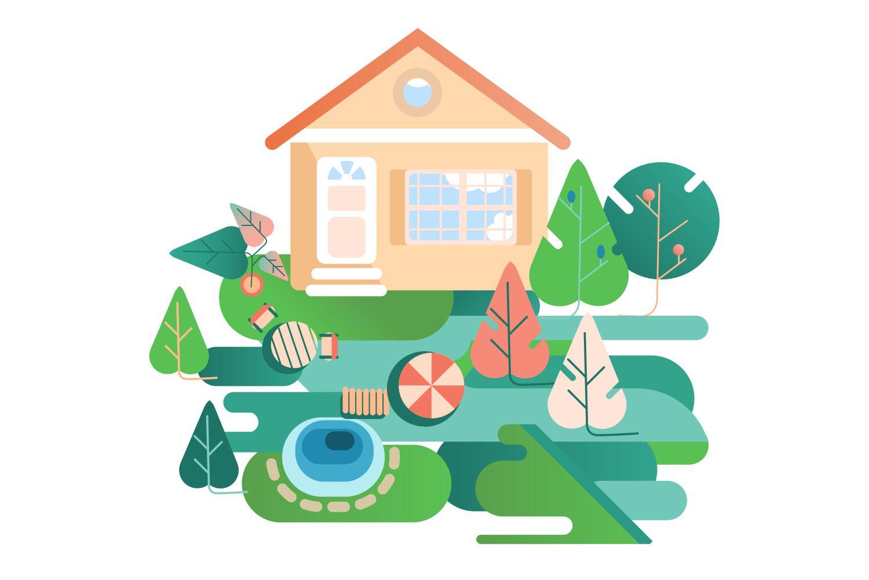 piata imobiliara 2021 casa cu gradina