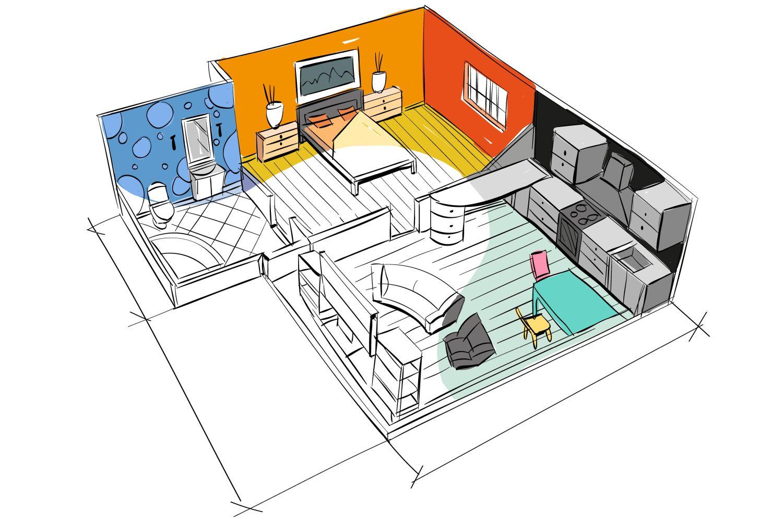 proiect amenajare casa