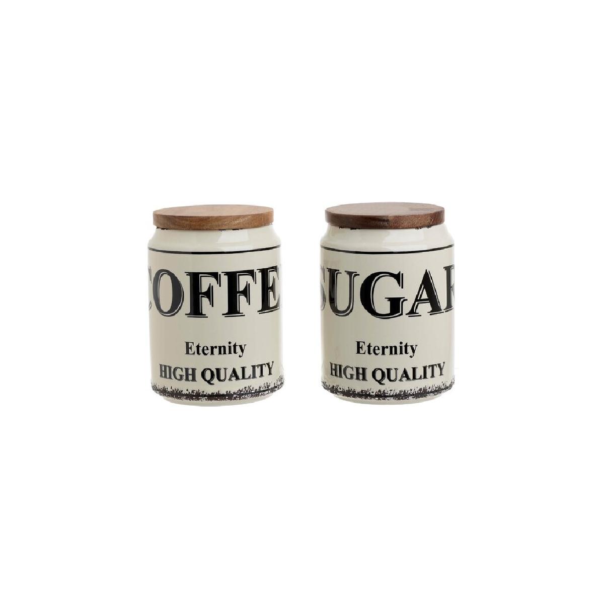 recipiente cafea zahar capac