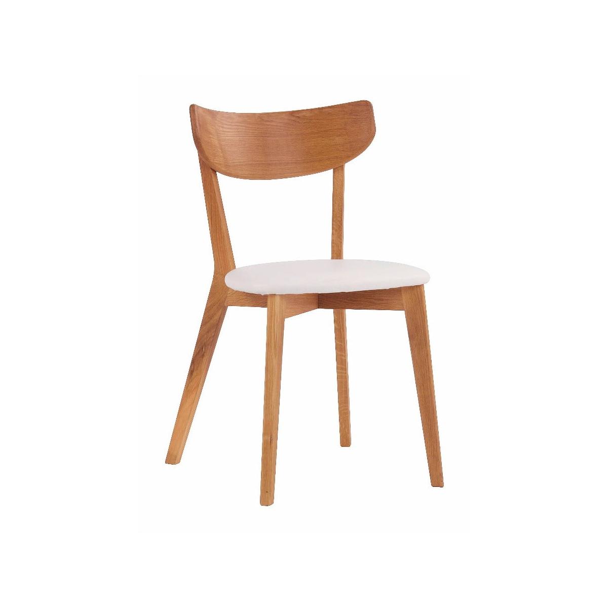 scaun din lemn stil hans wegne
