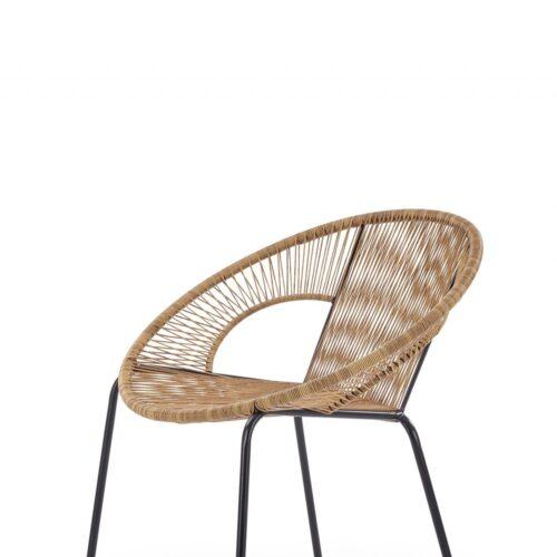 scaune de_ratan_bari_maro-somproduct