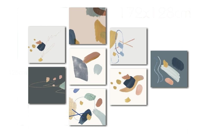 set tablouri decoratiuni baie