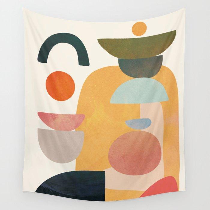 tapiserie colorata society6