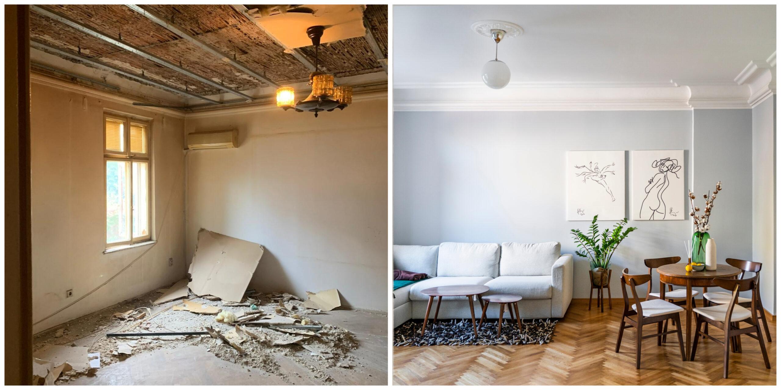 renovare apartament interbelic arhitectura bucuresti