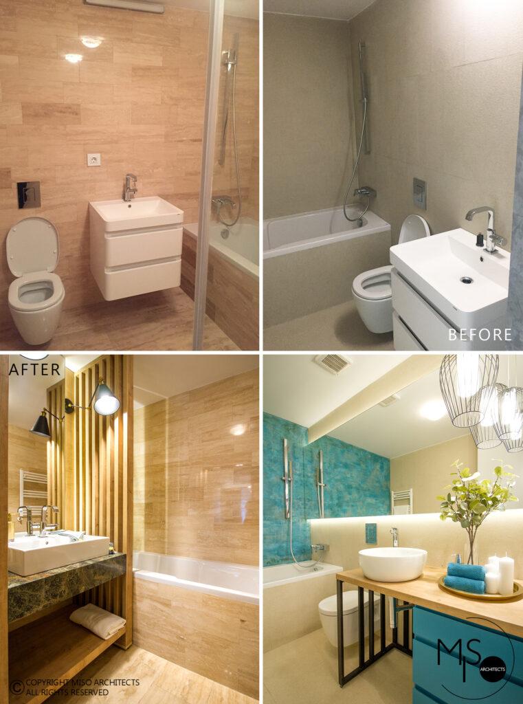 renovare baie