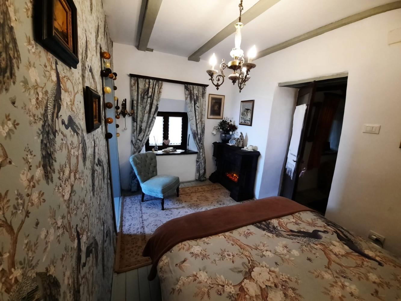 Interiorul fostei case pescărești, așa cum arată el în prezent
