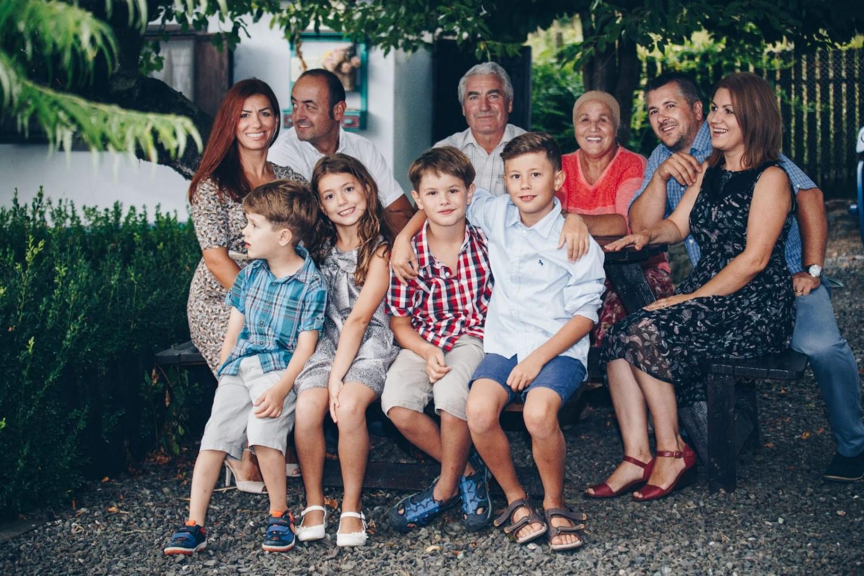 Întreaga familie a Sandei