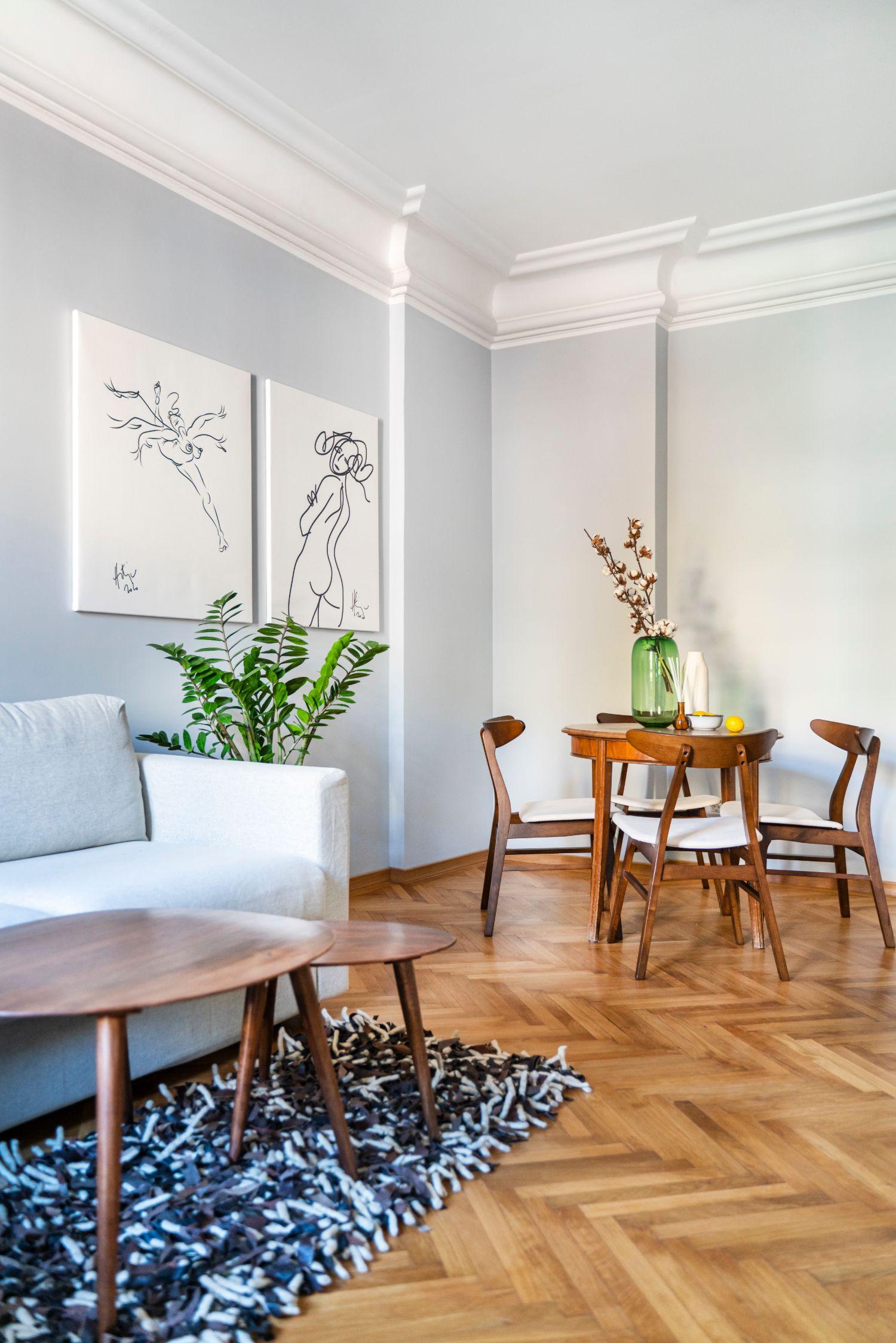 Living - renovare apartament vechi Amzei Kanso Design arh. Andra Bica (3)