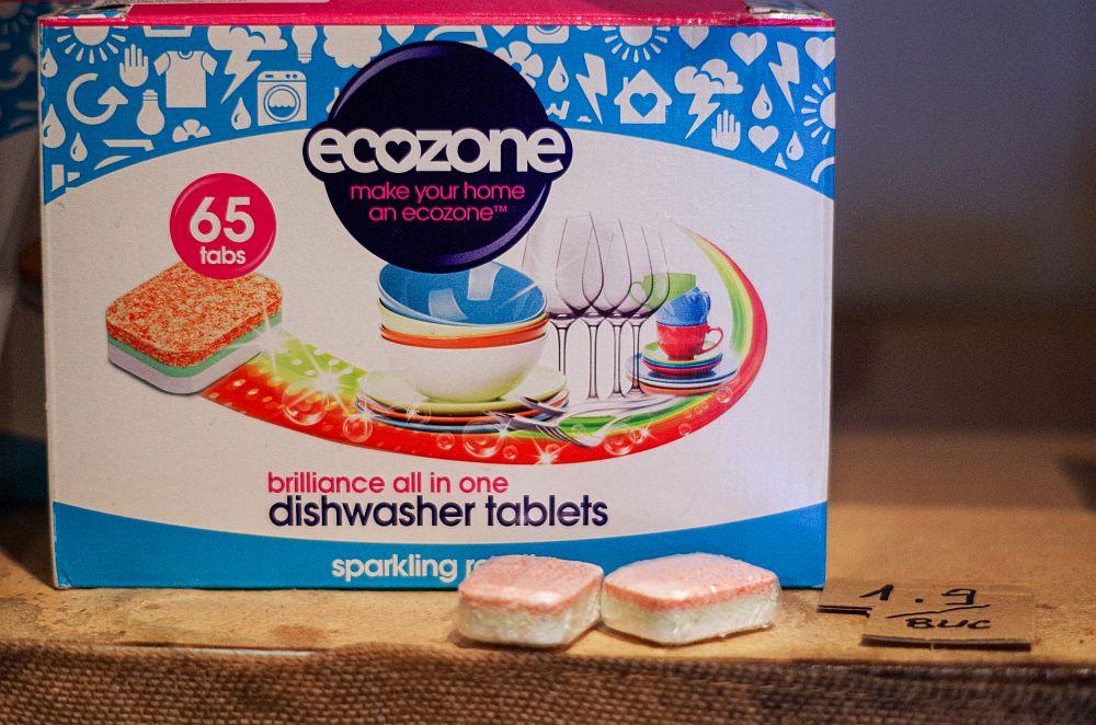 produse de curățenie eco pastile vase
