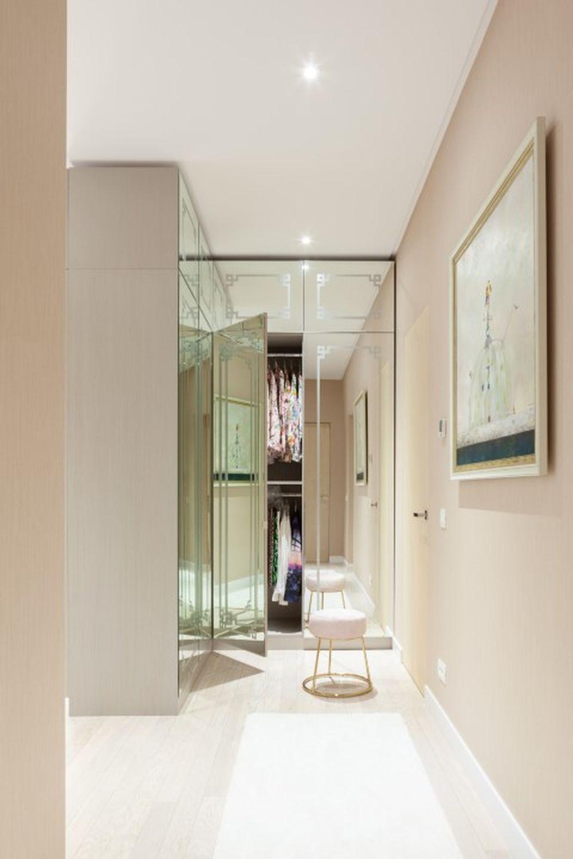 apartament lux amenajare moderna dormitor