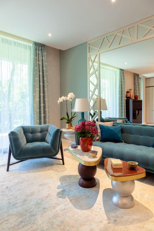 apartament lux amenajare moderna living