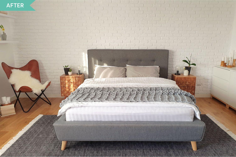 casa stil scandinav dormitor